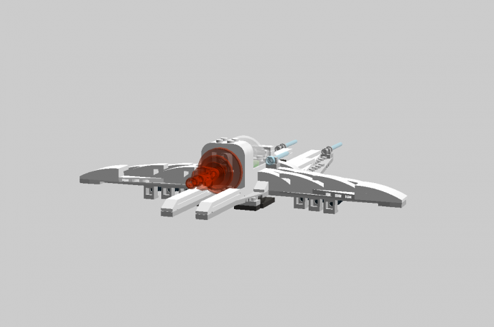LEGO MOC - In a galaxy far, far away... - Ship 'Eagle'