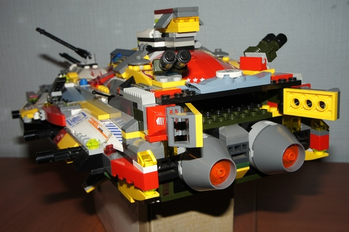 LEGO MOC - In a galaxy far, far away... - Крейсер Виконт