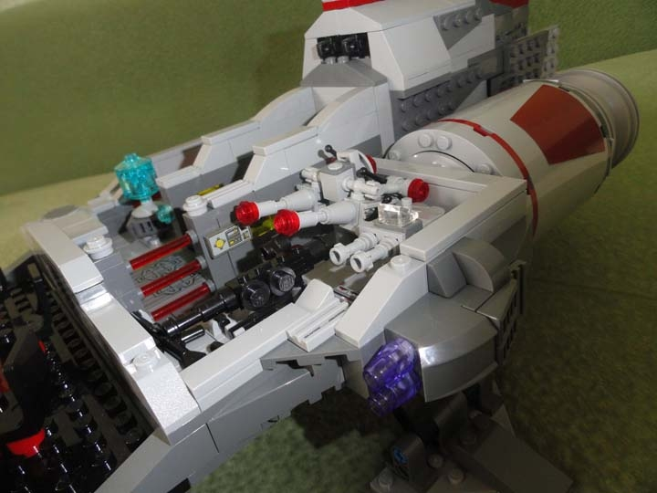 LEGO MOC - In a galaxy far, far away... - Imperial flagship 'Scarlet Claw'