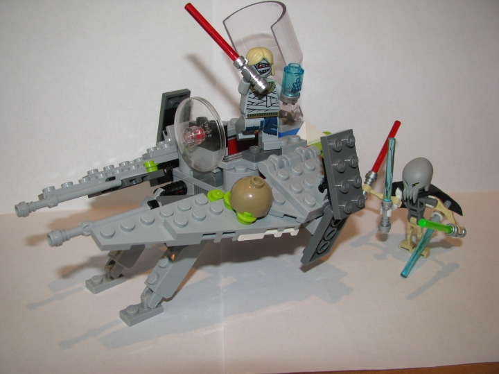LEGO MOC - In a galaxy far, far away... - Истребитель Ситхов