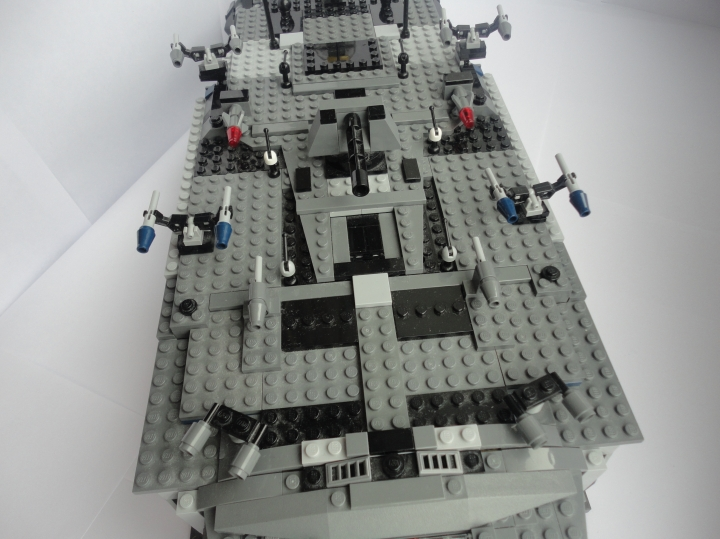 LEGO MOC - In a galaxy far, far away... - General Grievous's 'Destroyer' cruiser