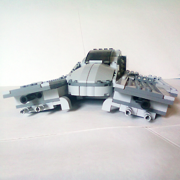LEGO MOC - In a galaxy far, far away... - 'Hawk' starfighter