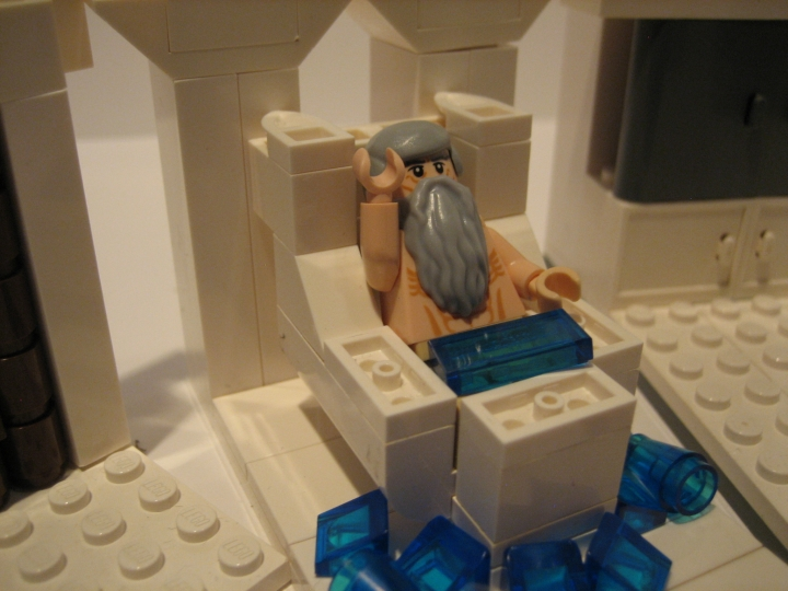 LEGO MOC - Because we can! - Arquimedes: Эврика!!!!!!!!!!!!!