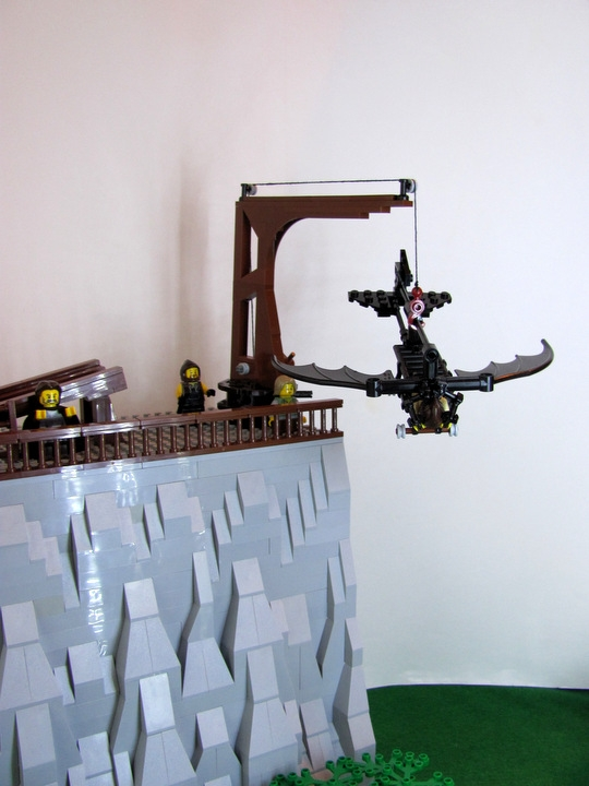 LEGO MOC - Because we can! - Leonardo da Vinci plane: 'Я не буду бояться!'