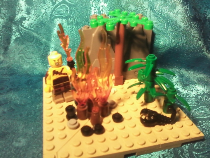 LEGO MOC - Because we can! - Fire discovery: Вот моя работа:))