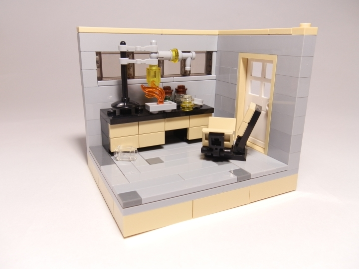 LEGO MOC - Because we can! - Accidental Discovery: Без минифигурки.