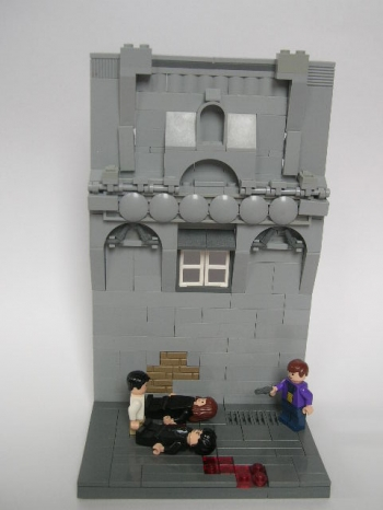 Crime Alley (Batman MOC)