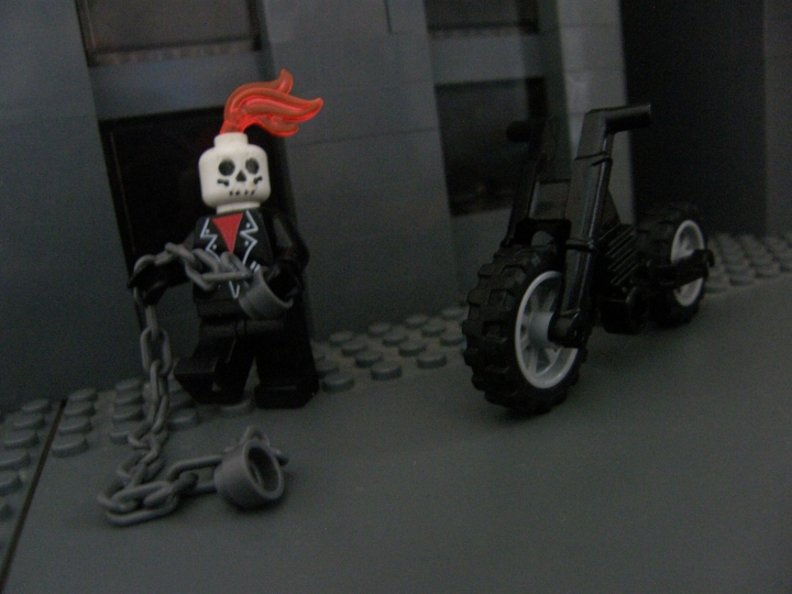 LEGO MOC - Heroes and villians - Ghost Rider