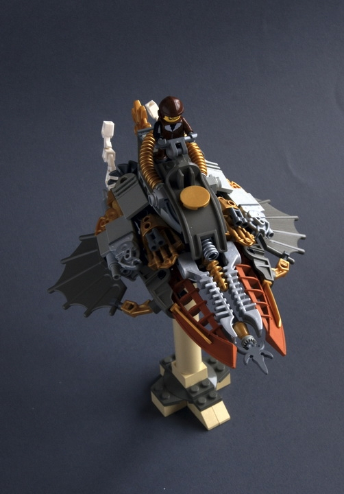 LEGO MOC - Steampunk Machine - Lawrence Bowles