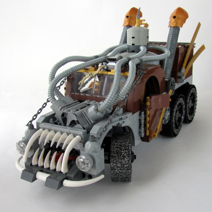 LEGO MOC - Steampunk Machine - Excalibur: <br><i>- Excellent colors! Noble bronze & yew.</i><br>