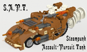 Steampunk Assault-Pursiut Tank