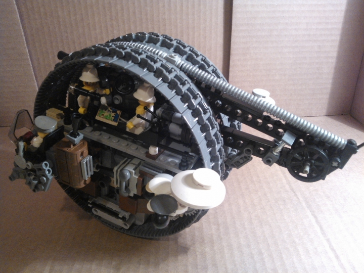 LEGO MOC - Steampunk Machine - Shock self-propelled gun