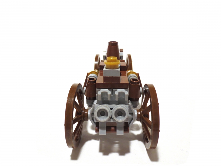 LEGO MOC - Steampunk Machine - Steam Ripper: Вид сзади