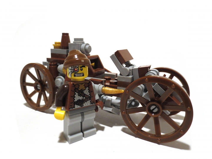 LEGO MOC - Steampunk Machine - Steam Ripper