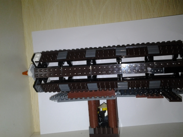 LEGO MOC - Mini-contest 'Zeppelin Battle' - Travellers Zeppelin
