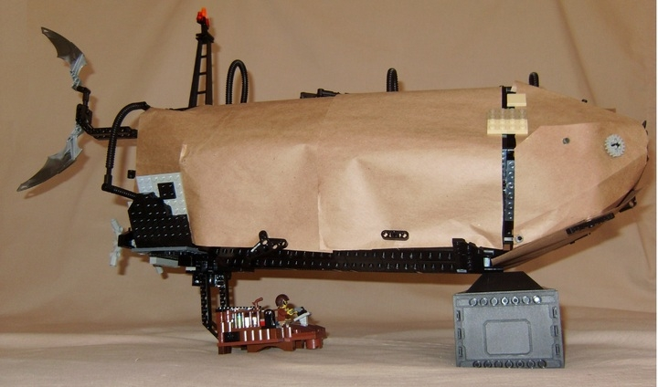 LEGO MOC - Mini-contest 'Zeppelin Battle' - Sky Shark