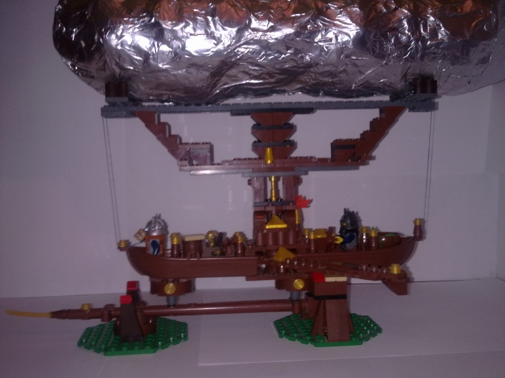 LEGO MOC - Mini-contest 'Zeppelin Battle' - Gnome Zeppelin