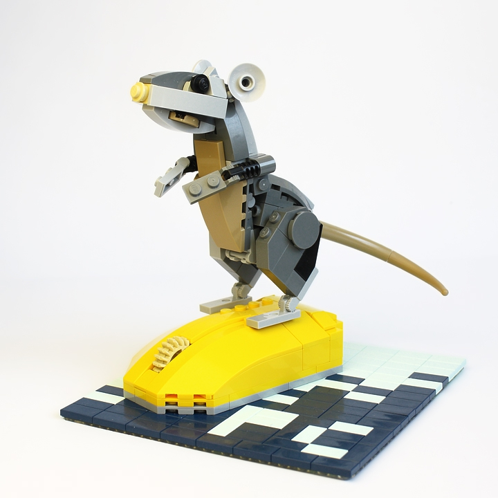 LEGO MOC - 16x16: Animals - Mice