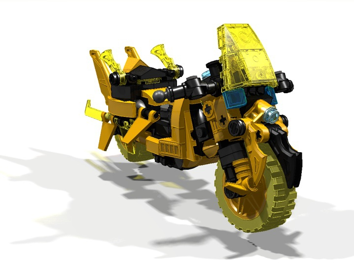 LEGO MOC - Mini-contest 'Lego Technic Motorcycles' - Motorcycle 'Wasp'