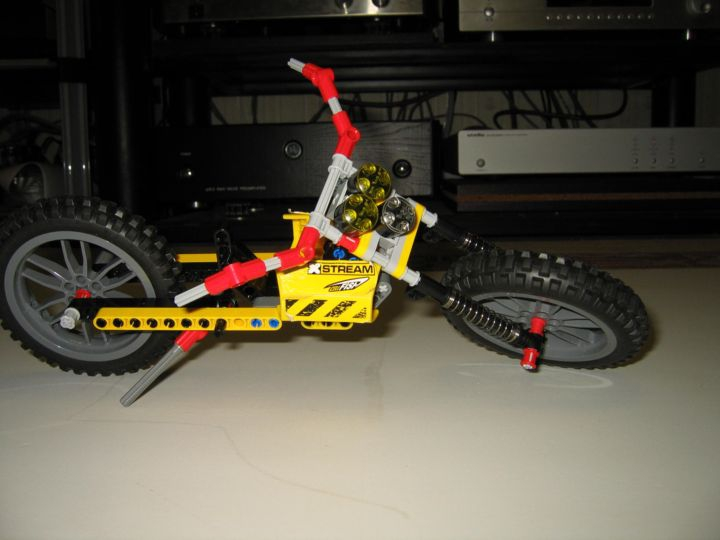 LEGO MOC - Mini-contest 'Lego Technic Motorcycles' - Лёгкий чоппер