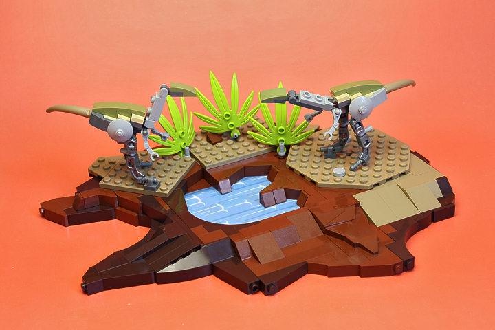 LEGO MOC - Jurassic World - Sunset: <br><br>