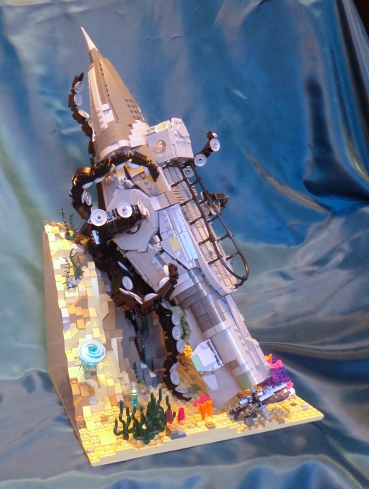 LEGO MOC - Submersibles - In the arms of an octopus