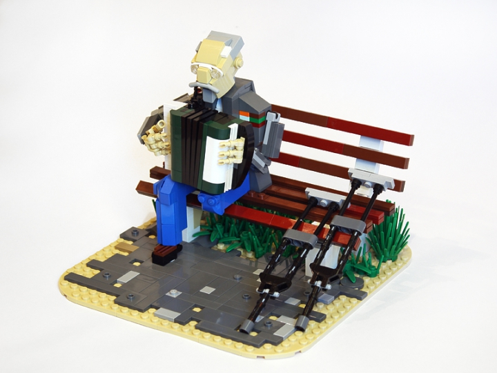 LEGO MOC - Joy and Sadness of Great Victory - Veteran