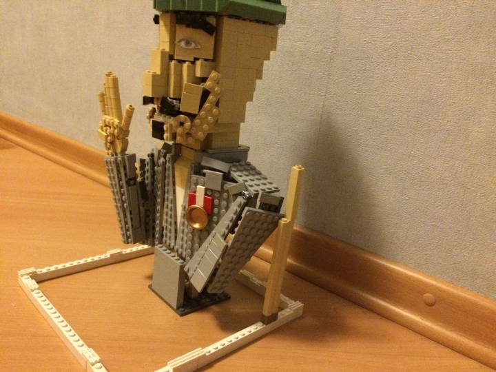 LEGO MOC - Joy and Sadness of Great Victory - Поездка домой