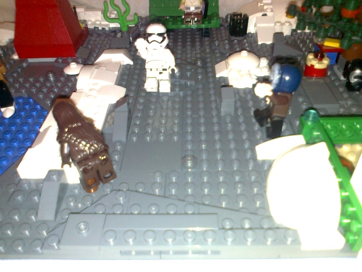LEGO MOC - New Year's Brick 2017 - Новый год в star wars: Игра в снежки