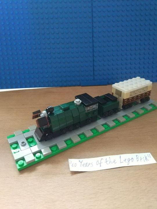 LEGO MOC - Contests of miniatures. EMERALD NIGHT - Emerald Night